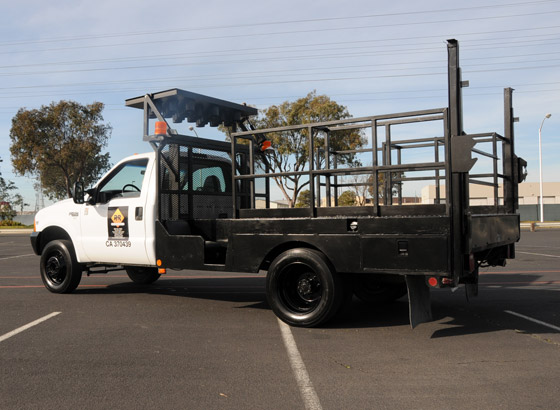 Traffic Control Trucks Pacific Highway Rentals