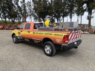 Type 6 Fire Safety Truck